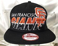 Original New Era 9Fifty MLB San Francisco Giants Deadstock Snapback Hat Cap