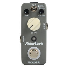 Mooer ShimVerb Digital Reverb Electric Guitar Effect Pedal True Bypass MRV1