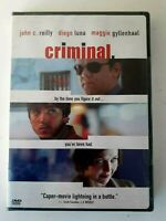 Criminal DVD 2005 Brand New Sealed