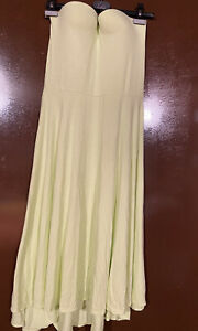 Victoria secret Strapless push up Madi Dress Molded Cups green 36C beach cover