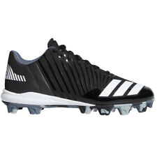 Adidas Icon MD Youth Boy's Baseball Cleat Black/White - Little League / Tee Ball