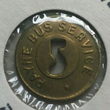 Muncie Indiana IN Payne Bus Service Transportation Token