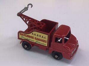 Vintage Moko Lesney Matchbox No. 13C Thames Trader Wreck Truck BPW Silver Hook