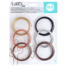 American Crafts We R Memory Keepers Happy Jig Color Wire - Neutral Pack, 6-Piece
