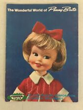Vintage Topper Toys Fold Out Catalog Booklet 1964 Johnny Seven, Penny Brite Book