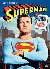 Adventures of Superman: Complete 2nd Season DVD Box Set Like New! TV