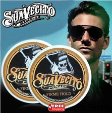SUAVECITO Hair Pomade Strong style restoring wax skeleton cream slicked oil men