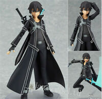 Anime Sword Art Online Kirigaya Kazuto Kirito 14cm Figure Model Toy New In Box