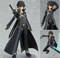 Anime Sword Art OnlineKirigaya Kazuto Kirito 14cm Figure Model Toy New In Box