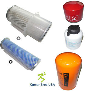 New Kumar Bros USA AIR/FUEL/OIL/HYD Filter for Bobcat T300 T320 A300 963