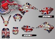 FOR CCM DS 404 FULL GRAPHICS KIT DECALS SUPER MOTO MX MOTOCROSS STICKERS ROTAX