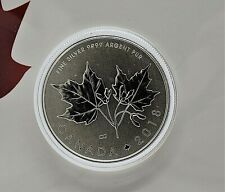 2018 Canada - Maple Leaves in Folder - 0,5 Oz Silver Coin