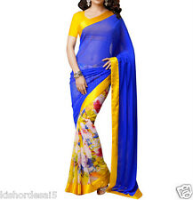 Veeraa Saree Exclusive Beautiful Designer Bollywood Indian Partywear Sari 131