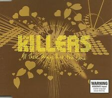 THE KILLERS All These things That I've Done EDIT& REMIX & VIDEO CD single SEALED