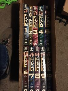 Jag: The Complete Series (DVD, 2010, 55-Disc Set) Used, Like New