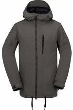 New 2017 Volcom Mens Sid Snowboard Jacket Medium Vintage Black