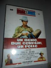 DVD N°28 I MITICI BUD SPENCER & TERENCE HILL UN GENIO, DUE COMPARI, UN POLLO