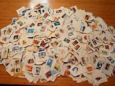 Vintage Australian Stamps Random Collectors Lots On Paper x70 ``