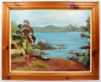 Original Irish Art Oil Painting Signed Dated 1965