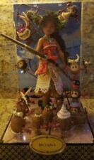 2017 Disney Designer Doll Folktale Collection MOANA Doll Set Limited Edition NEW