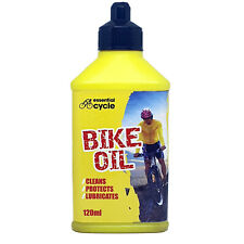 Rapide Essential Cycle Bike Chain Oil Cleans Protect Lubricates 120ml NEW