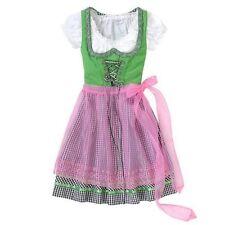 Traum-Dirndl GR 36/38 oder 34/36 Traumkleid mit transp. rosa Schürze + Bluse