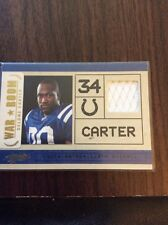 Panini Absolute Football Relic Of Indiananapolis Colts Delone Carter