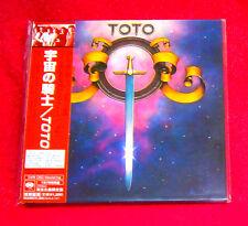 Toto Toto MINI LP CD JAPAN MHCP-609