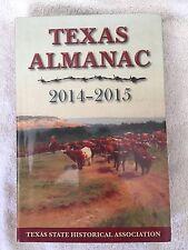 TEXAS ALMANAC 2014-2015 SOFT COVER