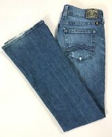LUCKY BRAND Womens LESLIE SWEET' N LOW Boot Cut Jeans ZET Medium Wash Size 6