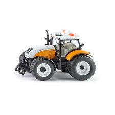 Siku 3286 Steyr 6240 CVT Kommunal Traktor gelb Maßstab 1:32 NEU!°