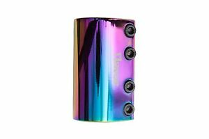 FLAVOR ESSENCE SCOOTER CLAMP - SCS - NEO CHROME - FREE EXPRESS SHIPPING