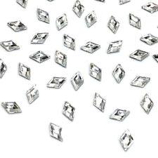 12 Swarovski 2773 Diamond Shape Flatbacks 5x3mm nail art clear CRYSTAL 001 *NEW