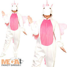 Deluxe Unicorn Adults Fancy Dress Animal Fairy Tale Book Day Mens Ladies Costume