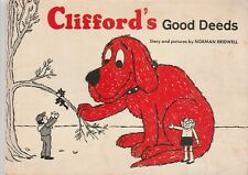 Clifford's Good Deeds 1975 Norman Bridwell Vintage Scholastic Paperback