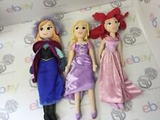 "Disney Store 20"" Princesses Soft Plush Toy Dolls Bundle x 7"