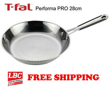 Tfal performa PRO stainless pan skillet 28cm tefal induction saute pan fry pan