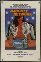 NAUGHTY NETWORK Penthouse Sexploitation ORIG 1981 1 SHEET MOVIE POSTER 27 x 41