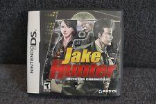 Jake Hunter: Detective Chronicles Nintendo DS Game - GOOD!