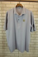 Peter Millar Mens Golf Polo Shirt Size XL X-Large Striped S/S Short Sleeve