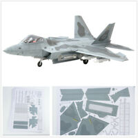 New DIY 1:33 Scale F-22 Raptor Fighter Air Plane DIY 3D Paper Model Puzzle Kit