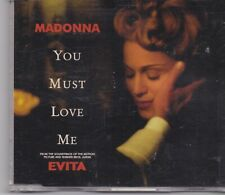 Madonna-You Must Love Me cd maxi single
