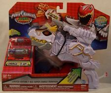 Power Rangers Dino Supercharge - Limited White T-Rex Super Charge Morpher (MISP)