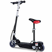 Folding Rechargeable Seated Electric Scooter Motorized Ride On Outdoor For Teens