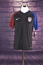Nike Black USMNT Authentic Match Soccer Jersey 743672 010 Sz L Pro Cut USA $165