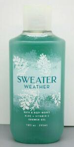 Bath & Body Works Sweater Weather Shower Gel - 10oz - Fast Shipping in US!