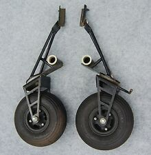 TANDEM LANDING GEAR Wheels Hang Glider Gliding with Minor Dings Unknown Brand