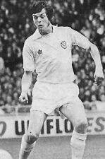 Football Photo>DUNCAN McKENZIE Leeds United 1974-75