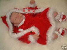 Motif tricot ** bébé neige ** (& Santa) ** twins tenues