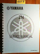 Yamaha Outboard 2N 2HP 2 N Service Manual LIT 18616 00 01 6/86